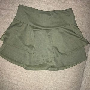 BOOHOO skirt with shorts under.